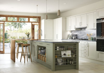 Town and Country range | Bridgwater Dark Sage and Prosecco